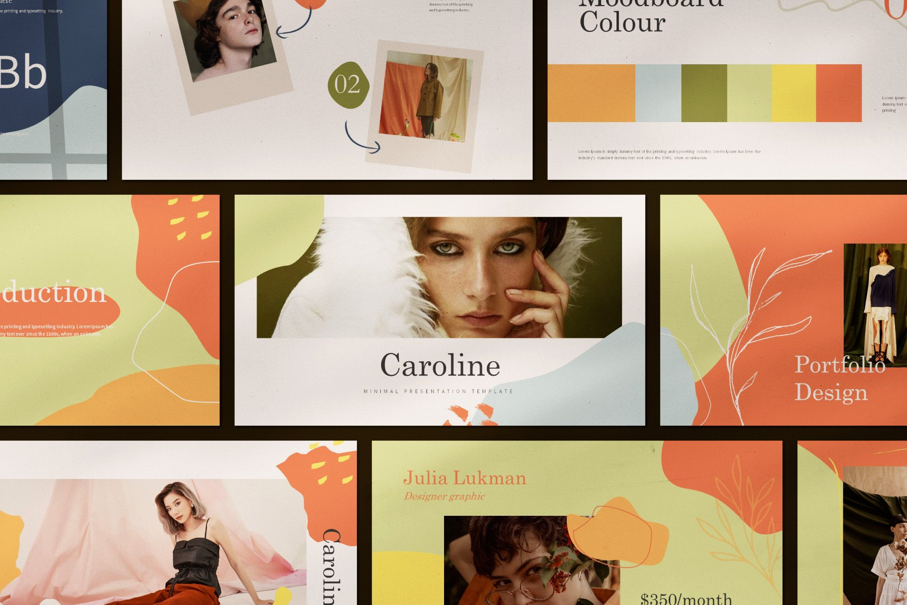 Design is flexible and you can customize template in a simple way.