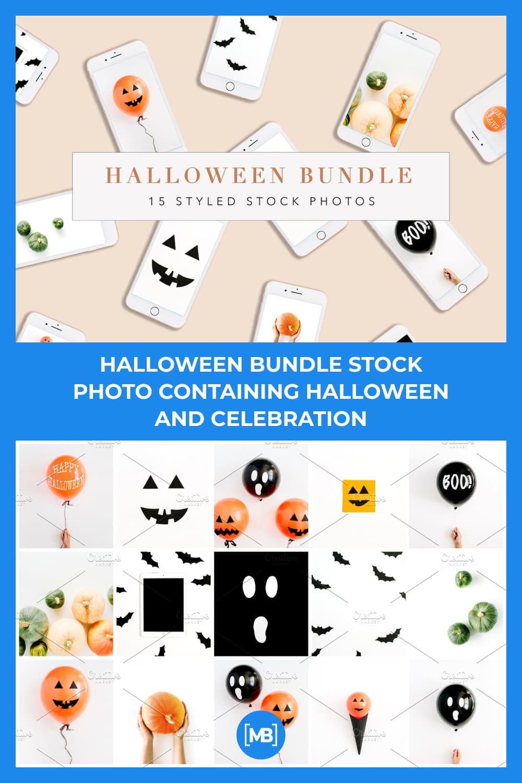 2 Halloween bundle stock photo containing halloween and celebration