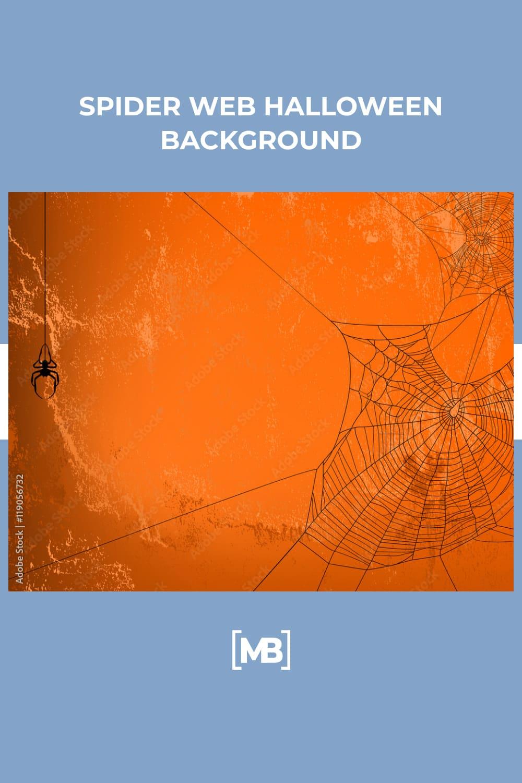 20 Spider web halloween background