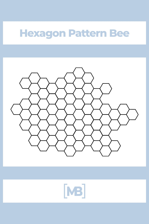 Hexagon Pattern Bee.