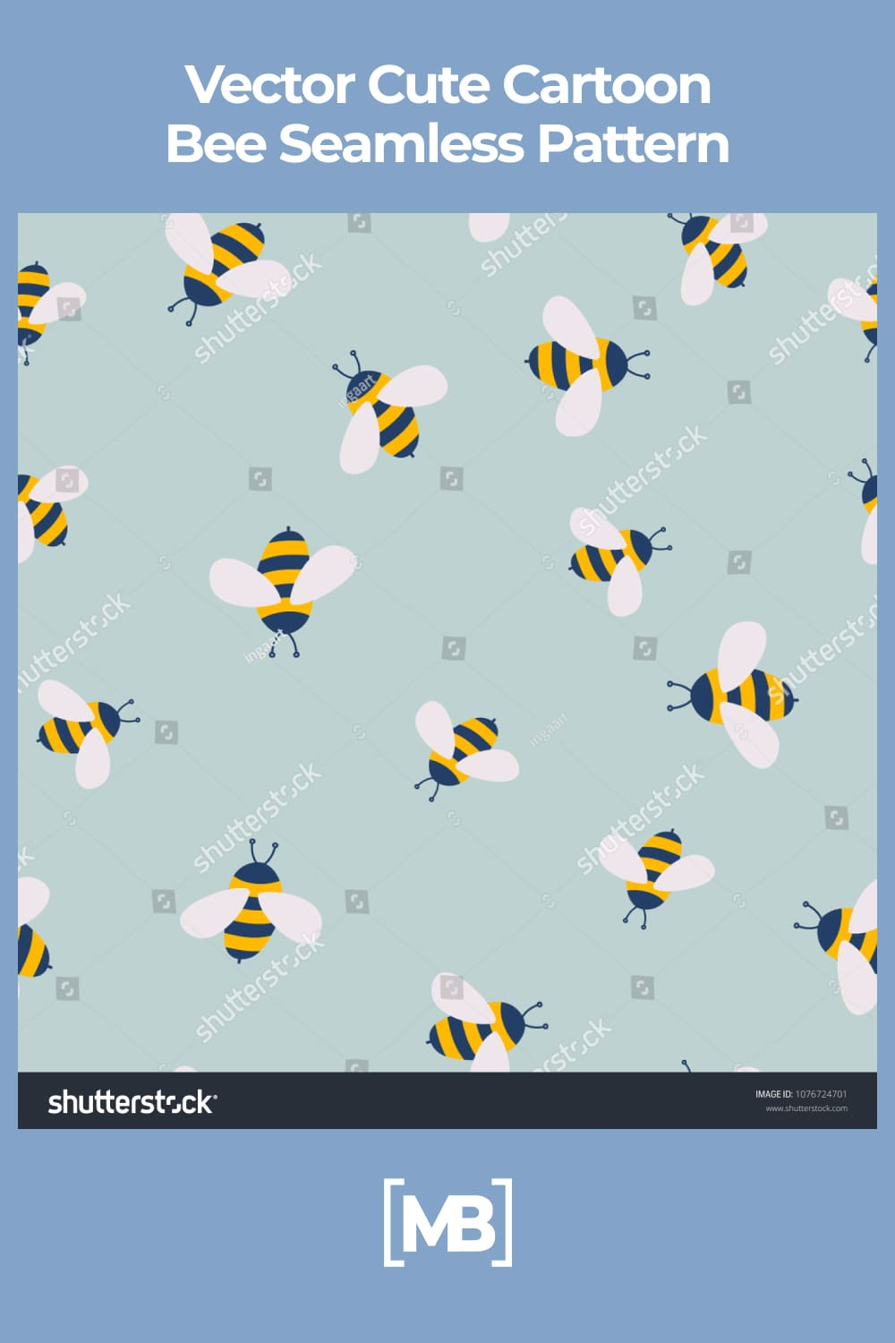 A lot of cute bee.