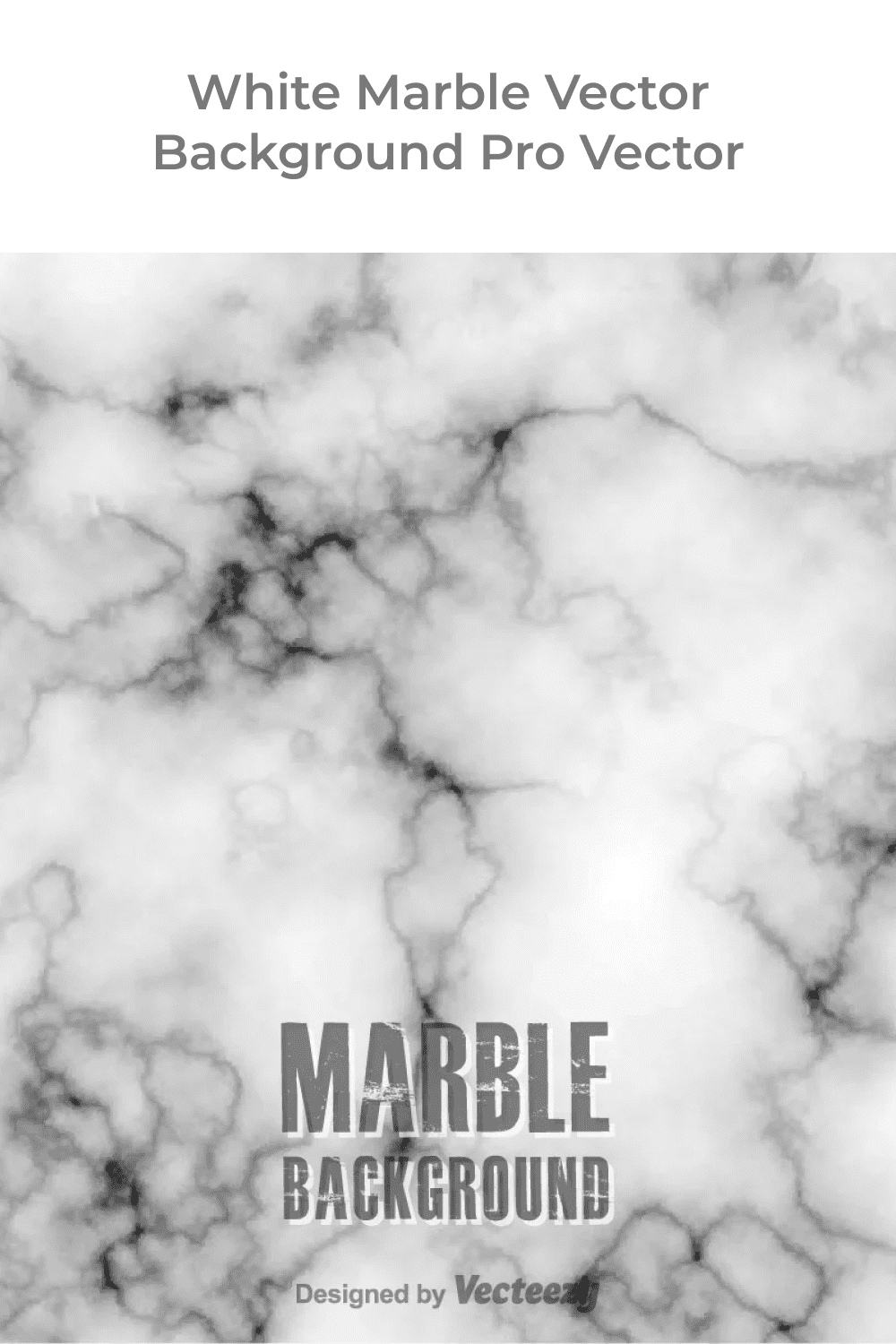 White marble vector background.