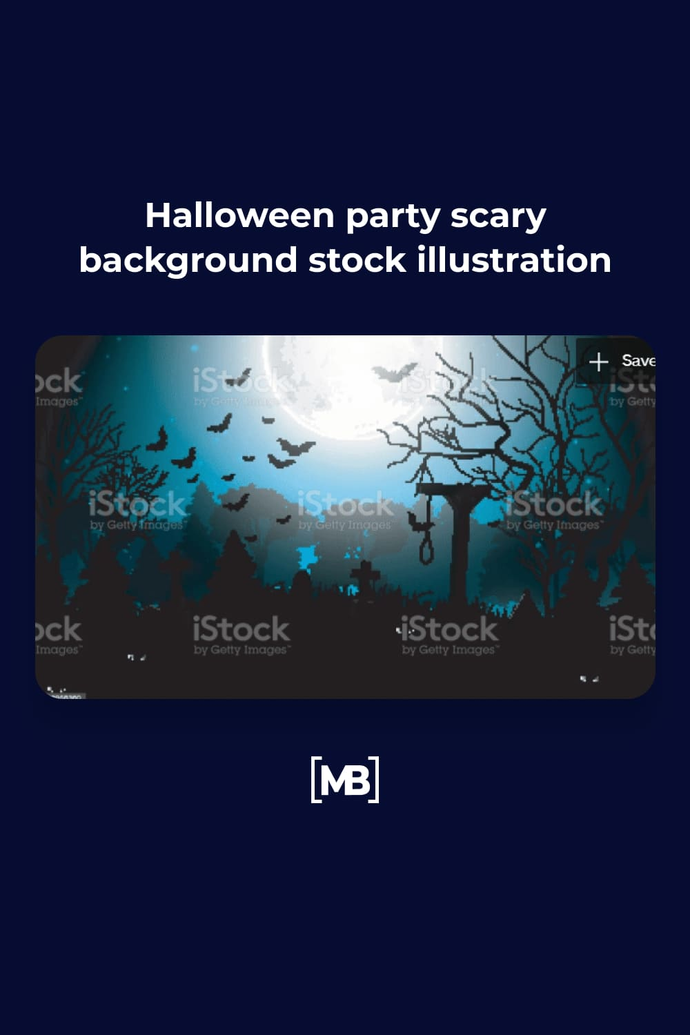 8 Halloween party scary background stock illustration