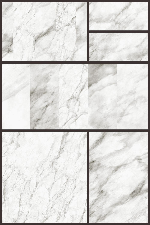 White marble textures.