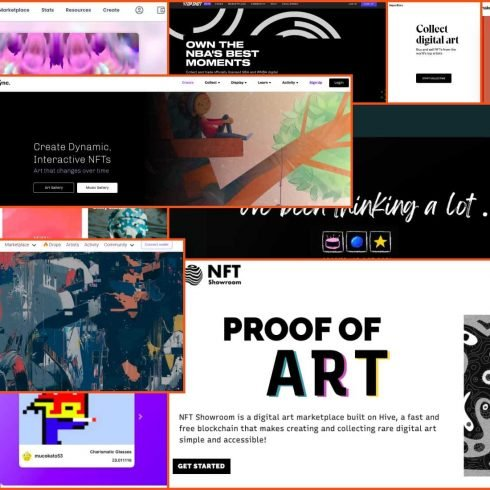 A Guide To NFT Marketplaces: 12 Best NFT Platforms to Sell Your Art