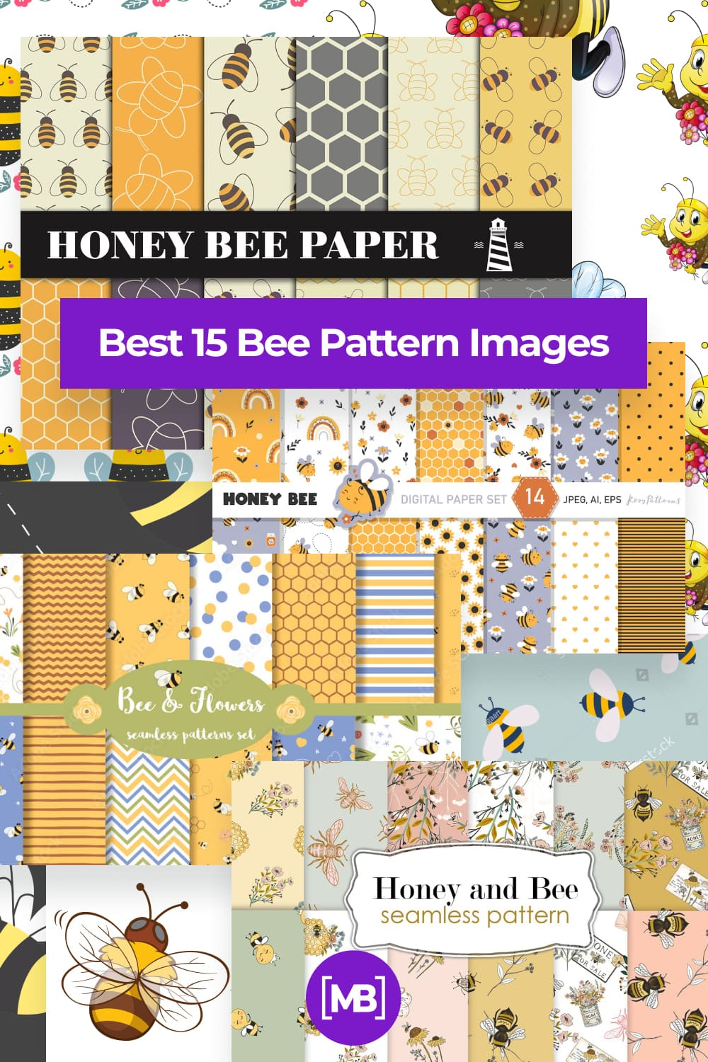 Bee Pattern Images Pinterest.