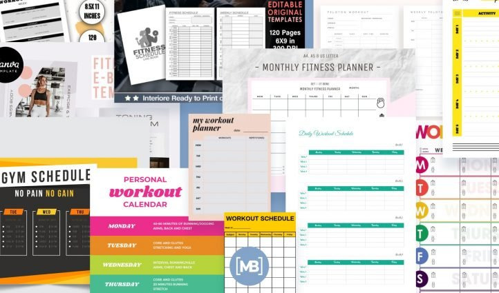Best Google Sheets Workout Templates Example.