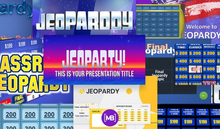 Best Jeopardy Powerpoint Templates Example.