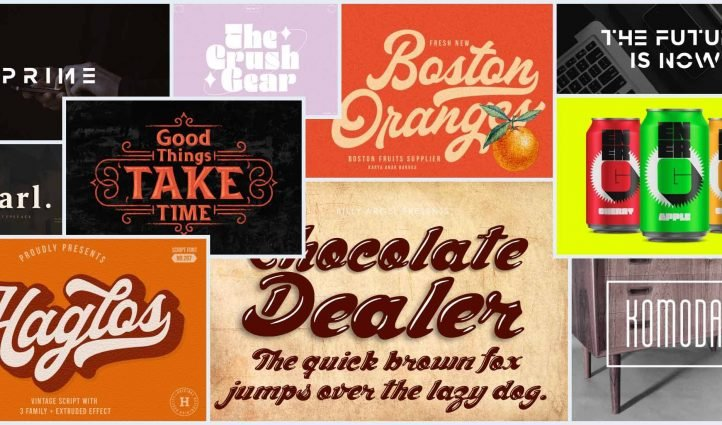 Best Modern Bold Fonts Example.
