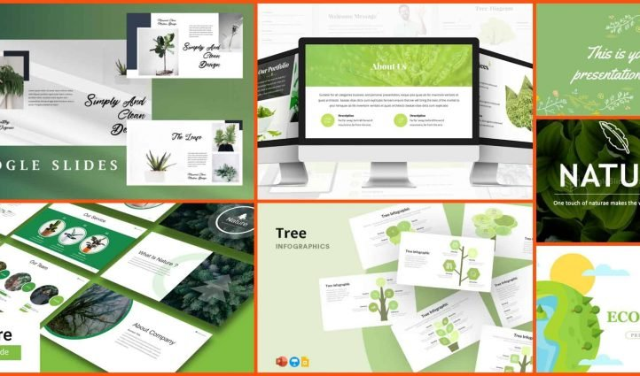 Best Nature Google Slides Themes Example.