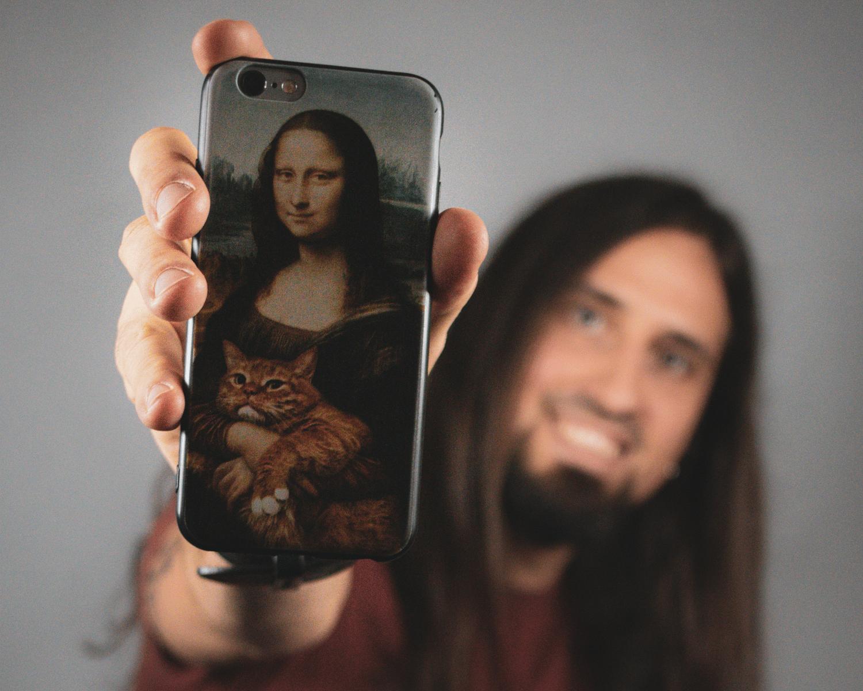 Lucian Radu and Mona Liza.