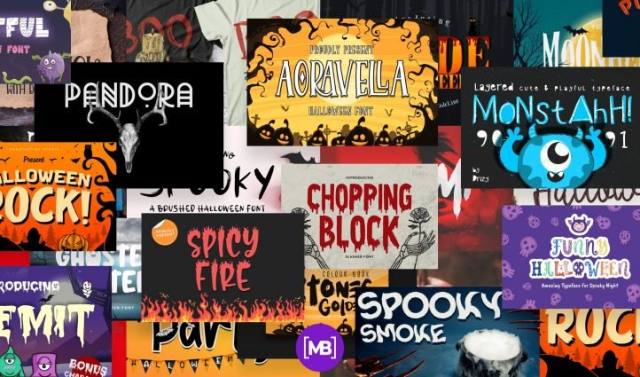 Stunning Halloween Fonts For All Business Ideas Example.