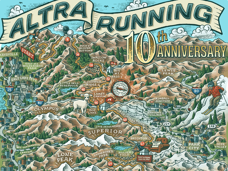 Map for Altra.