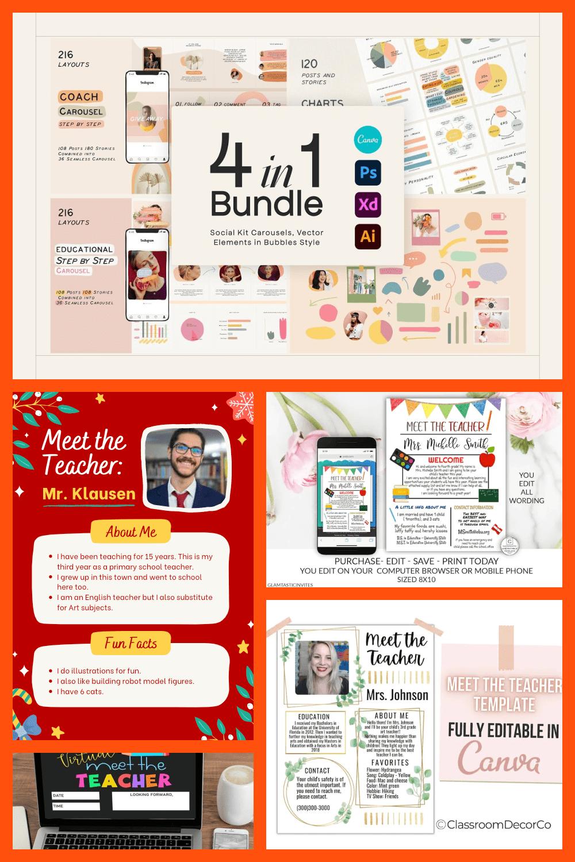 Meet The Teacher Template Pinterest.
