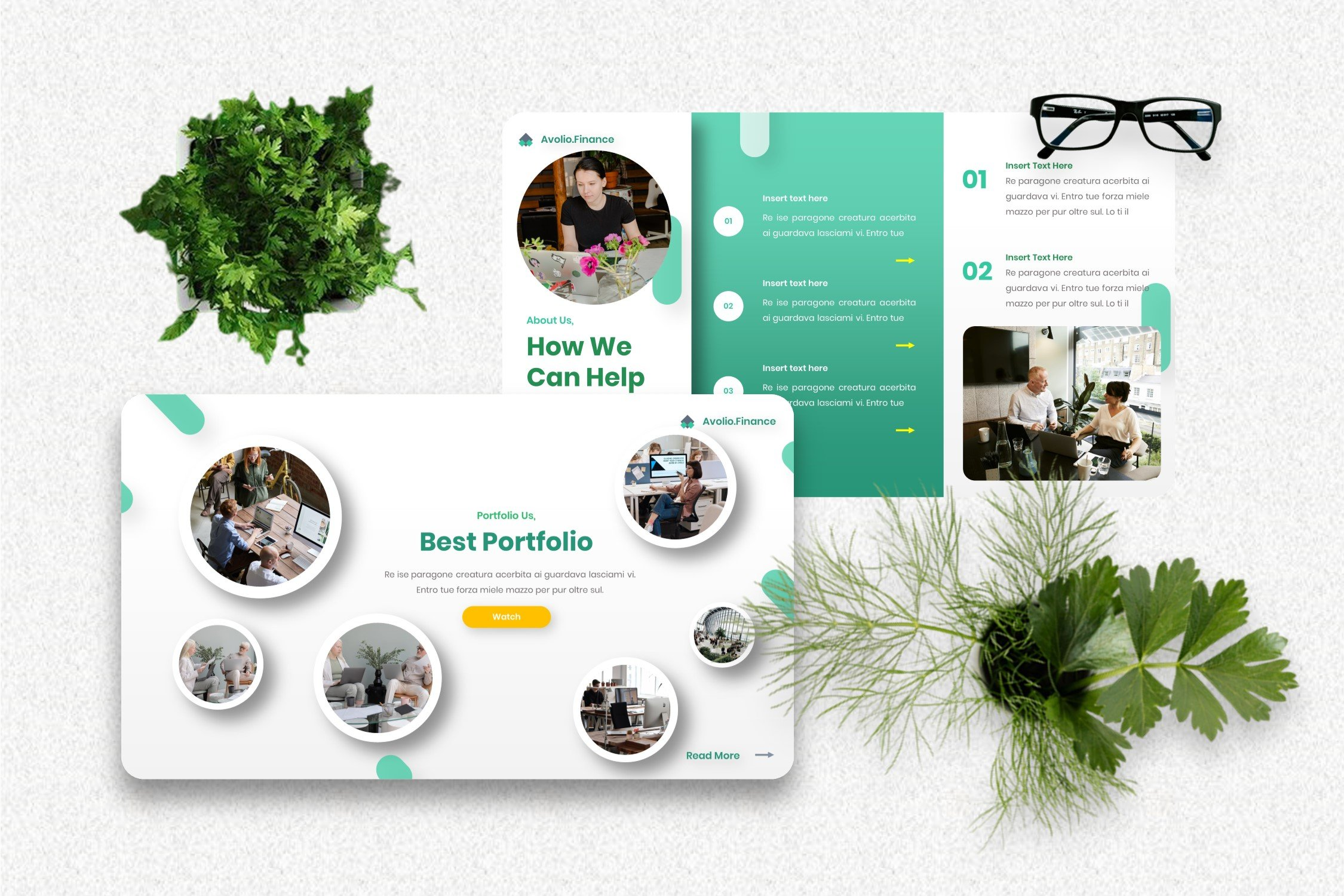 It's a simple and cool template for business.