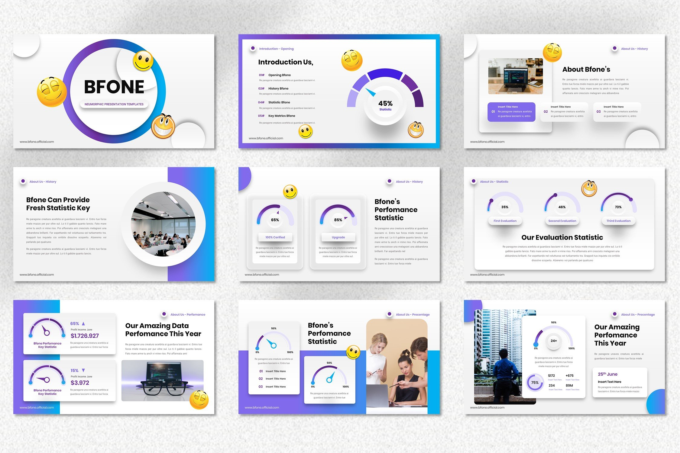 This template have a big collection of the infographics.