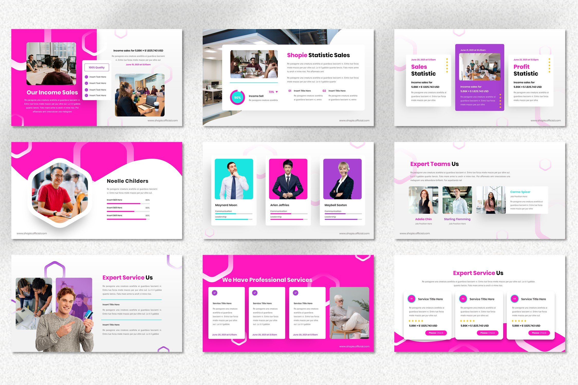 Shopie is a mobile friendly template.