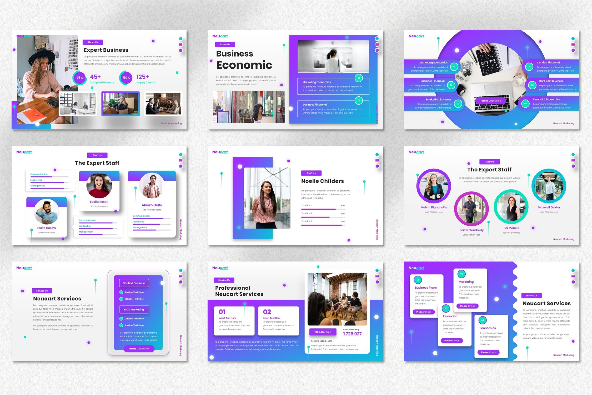 This is a creative and contemporary template for an interesting project.