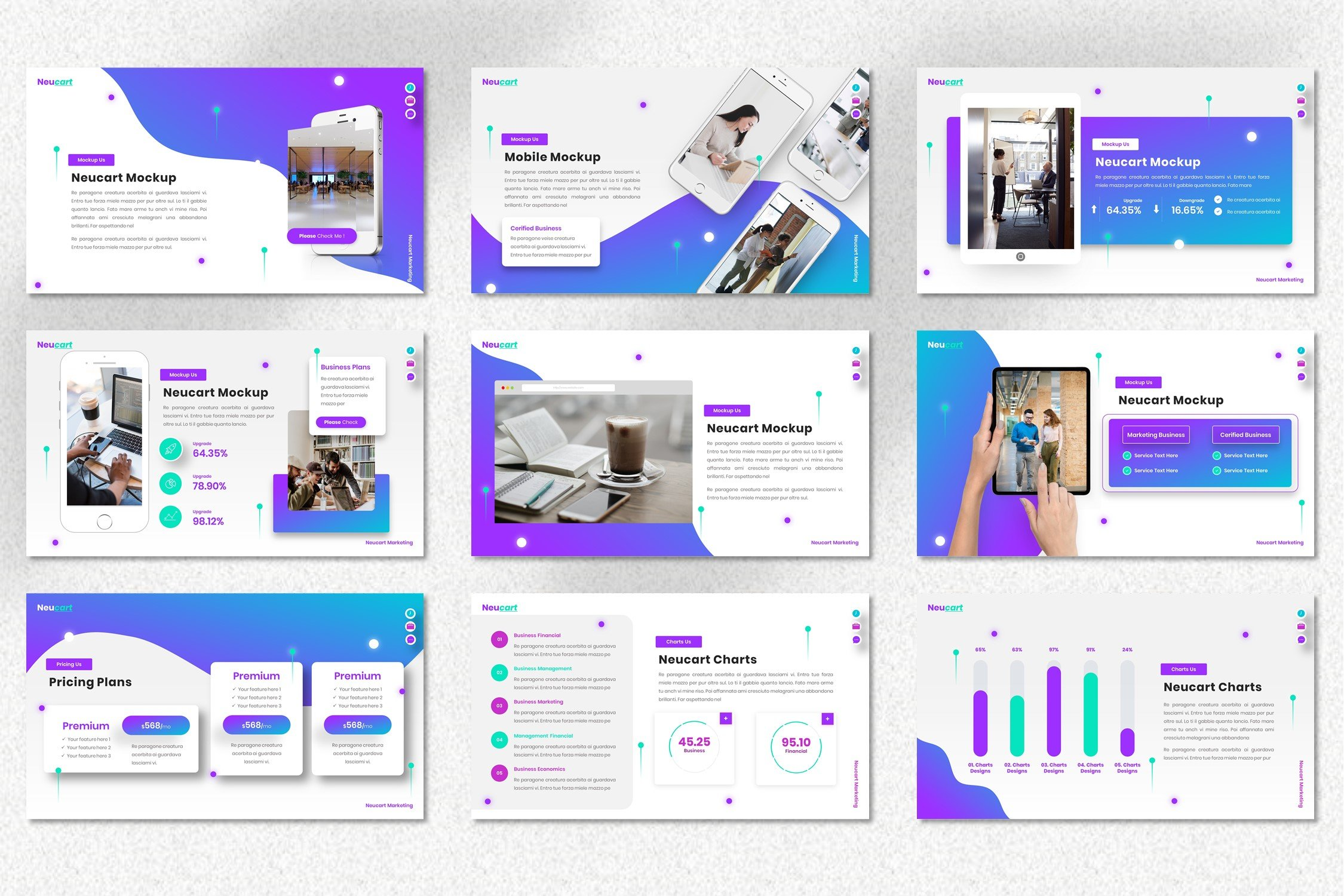 Neucart is a mobile friendly template.