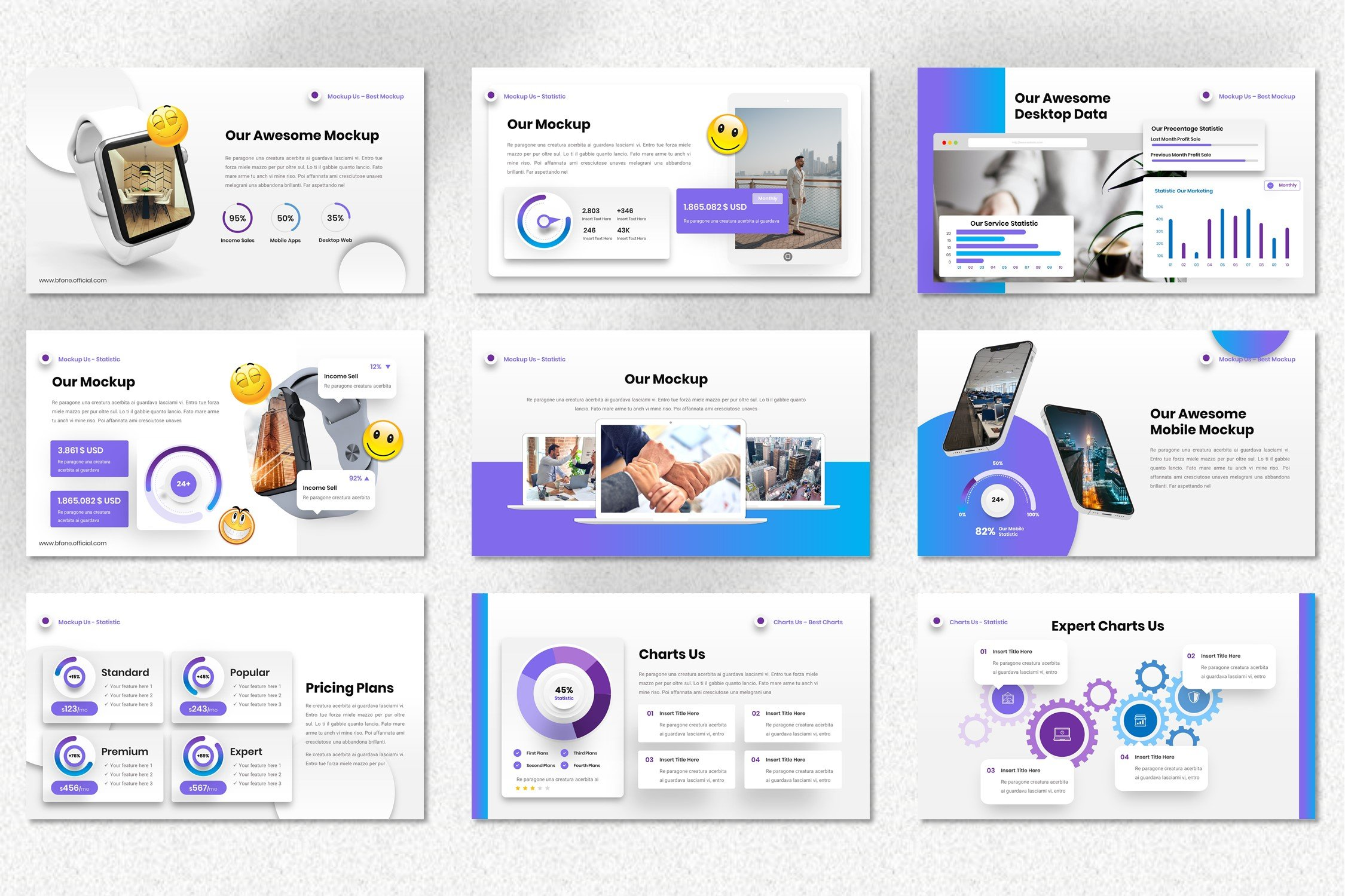 Bfone Neumorphic is a mobile friendly template.