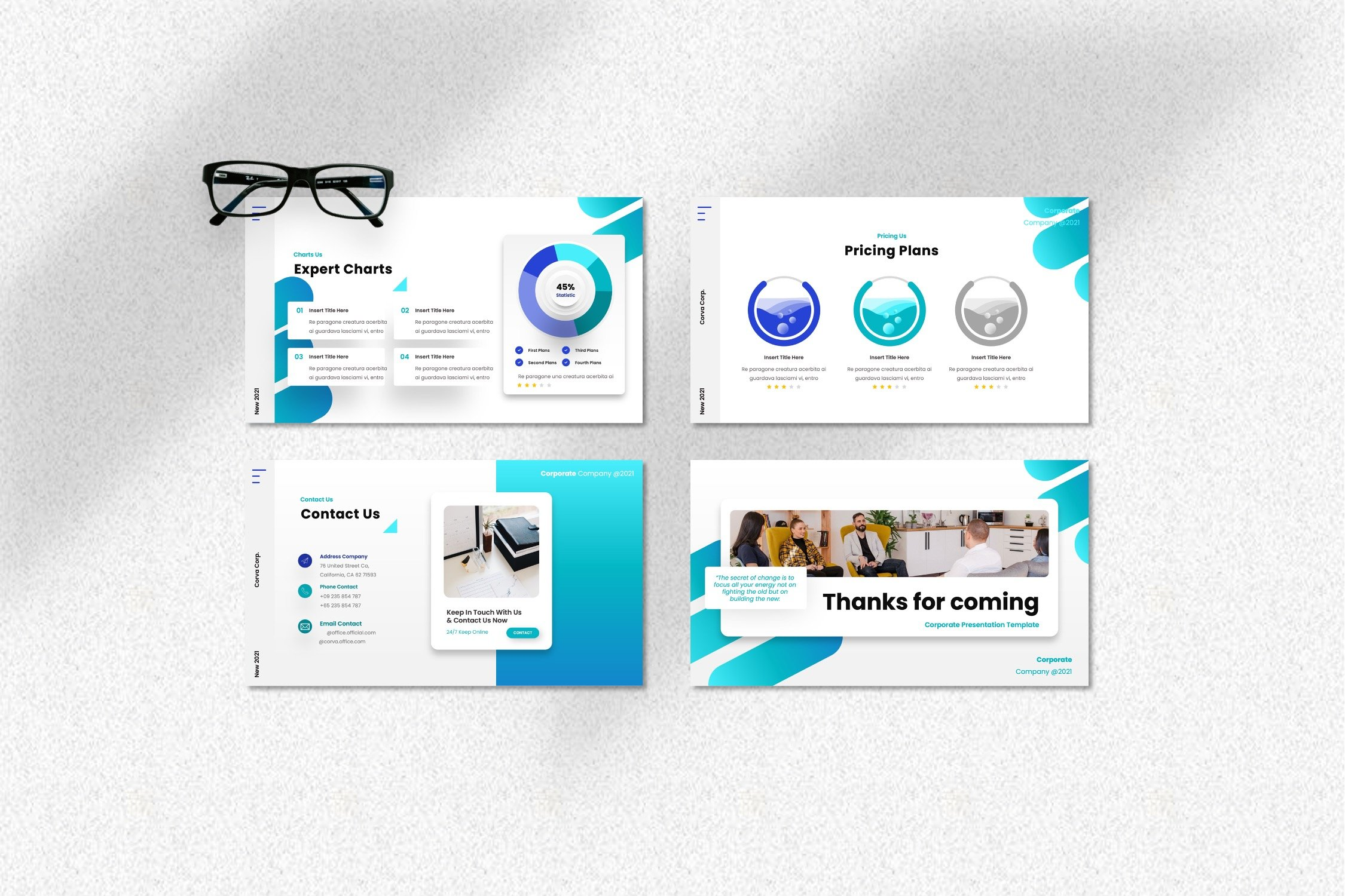 Here you will find nice elements for your presentation.