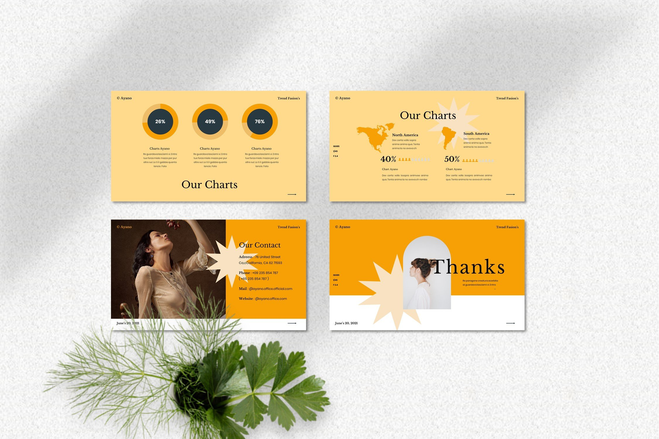 This is a contemporary and stylish template.