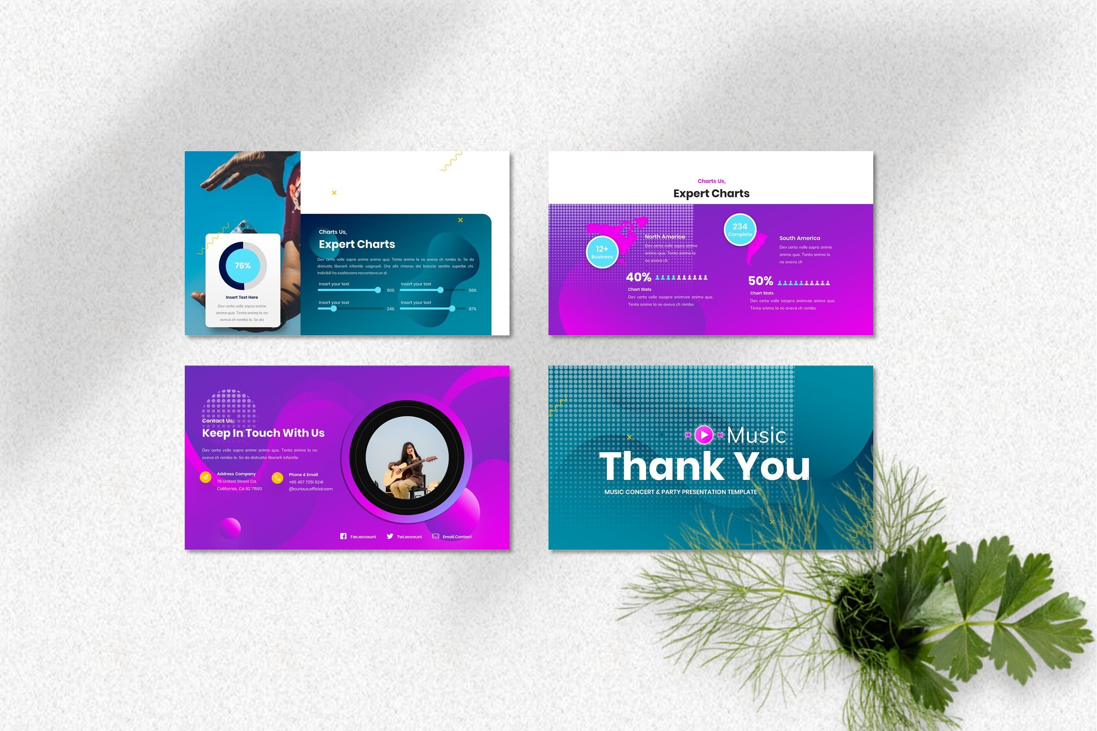 Use this template for decorating your presentation.