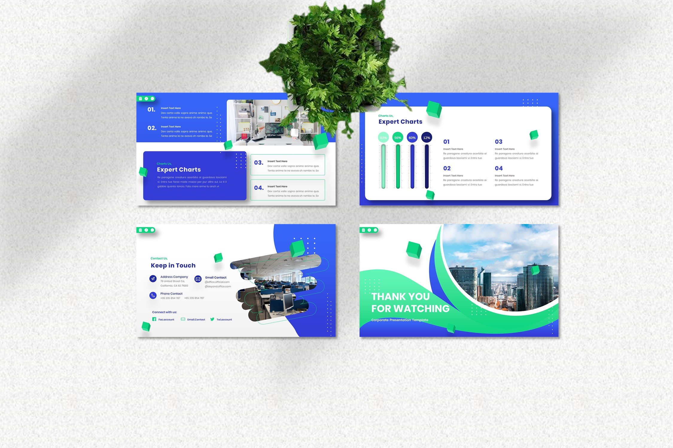 This template is a good solution for business report.