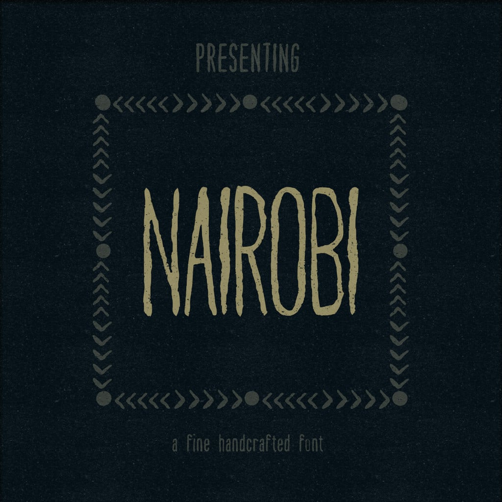 Nairobi free font