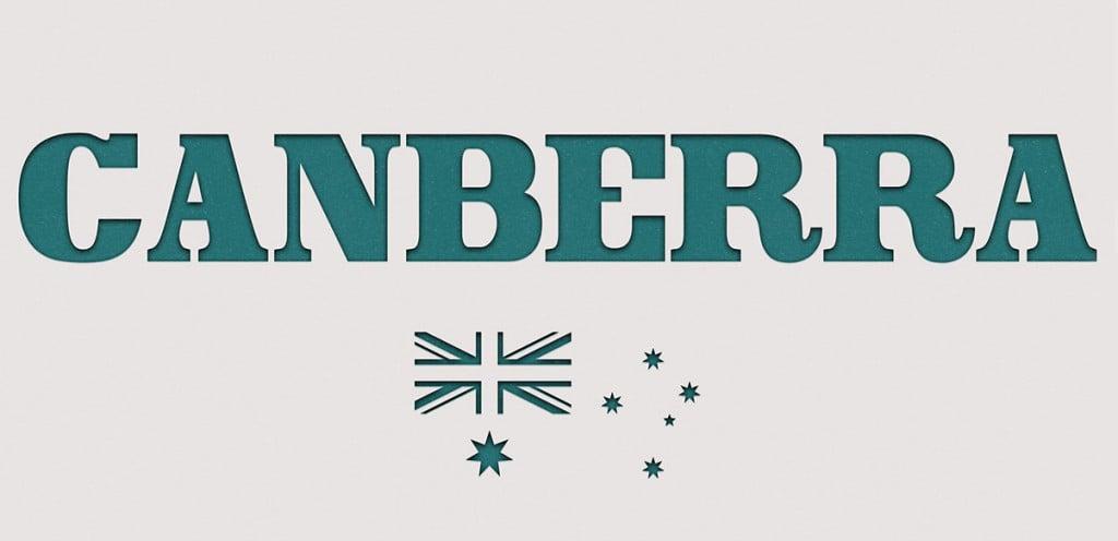 Canberra free font