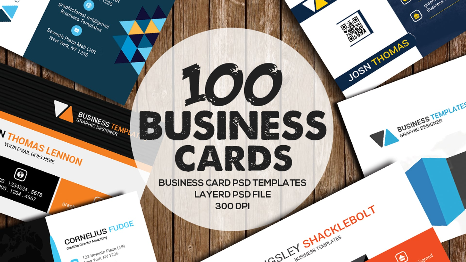 100 Business Card Bundles.