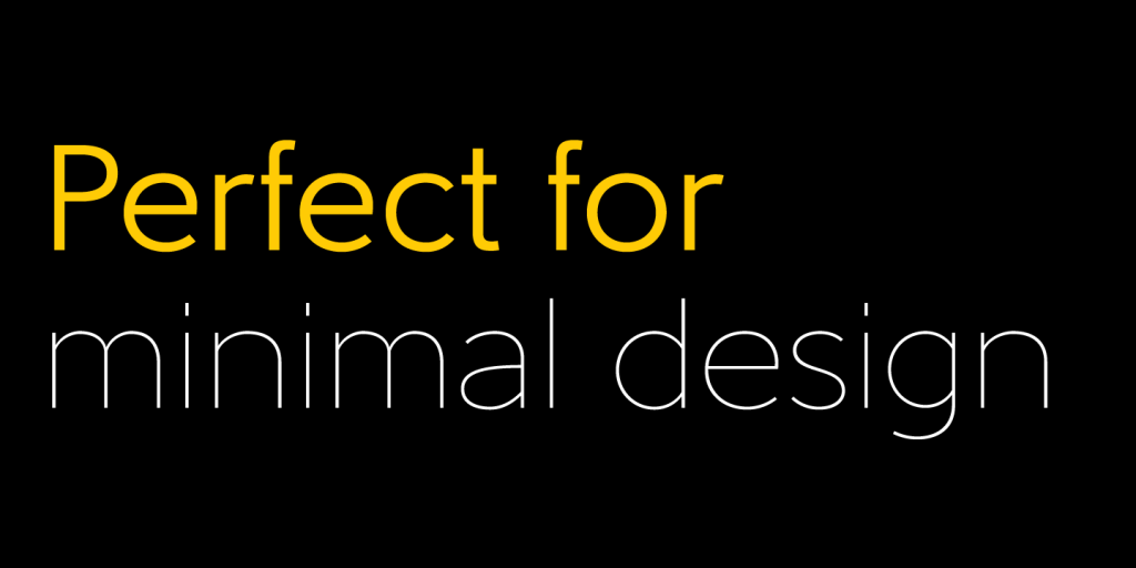 Yellow font combined with white.