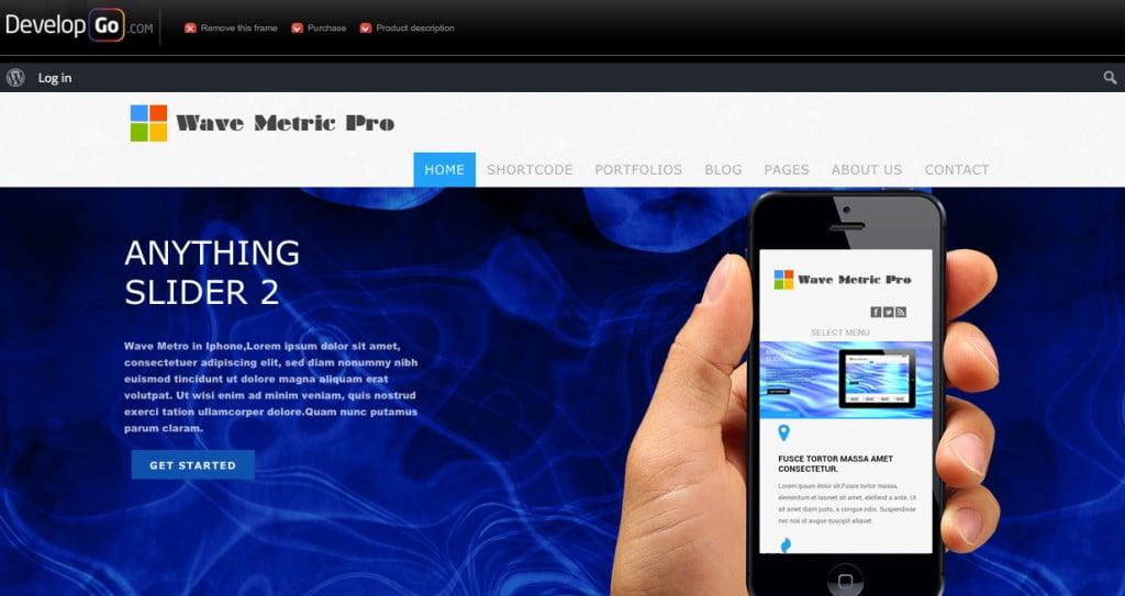 Wave Metro Pro Multipurpose WordPress Theme