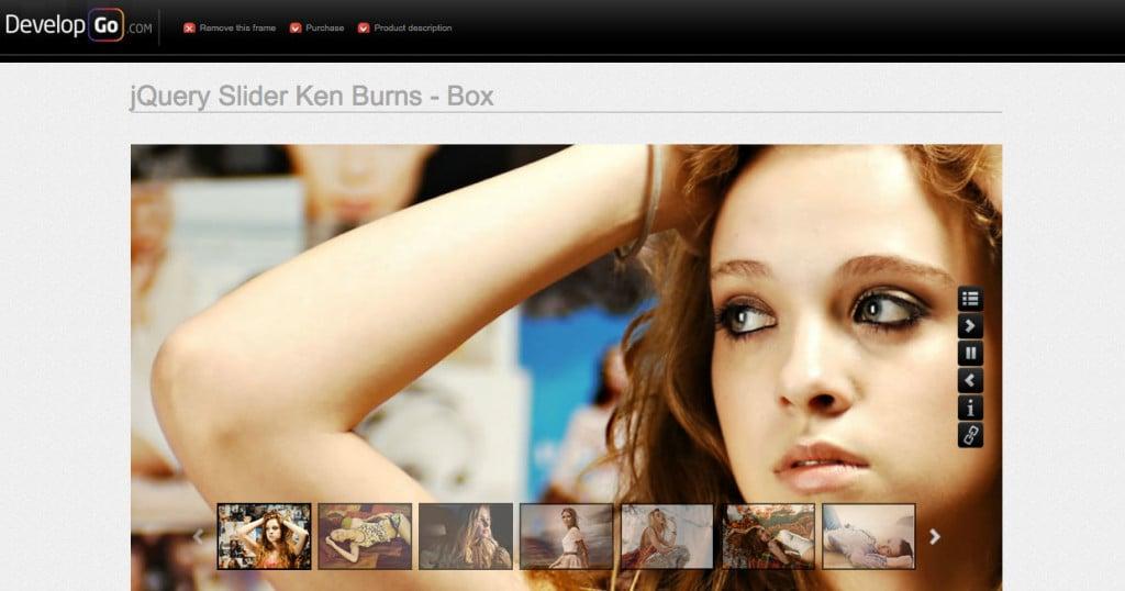 Slider Gallery with KenBurns