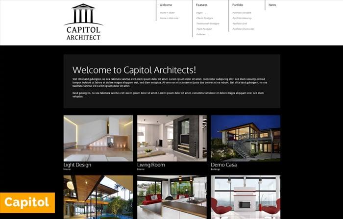 Capitol – WordPress Architect Theme