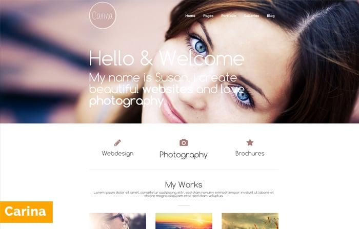Carina – Portofolio WordPress Themes