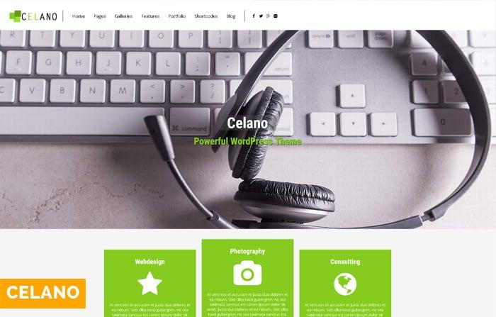 Celano Multipurpose WordPressTheme