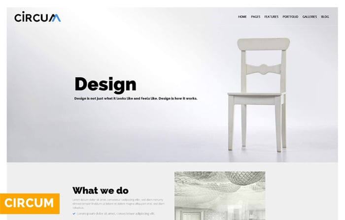 Circum – Creative Agency WordPress Theme