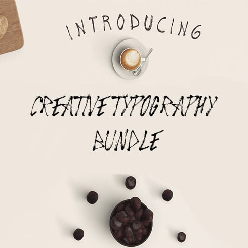 Author - creative typography bundle 1