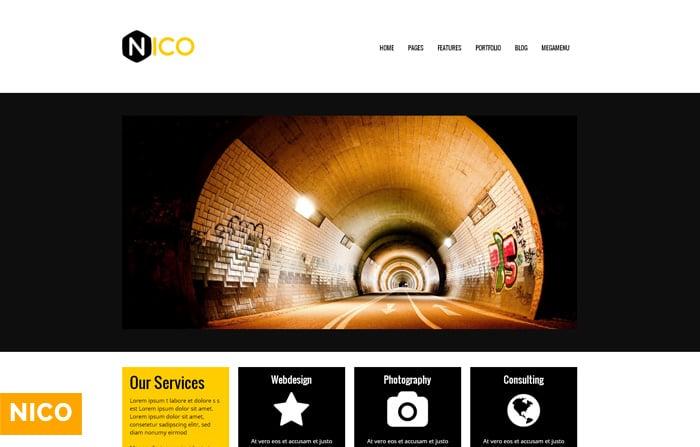 Nico – Multipurpose WordPress Theme