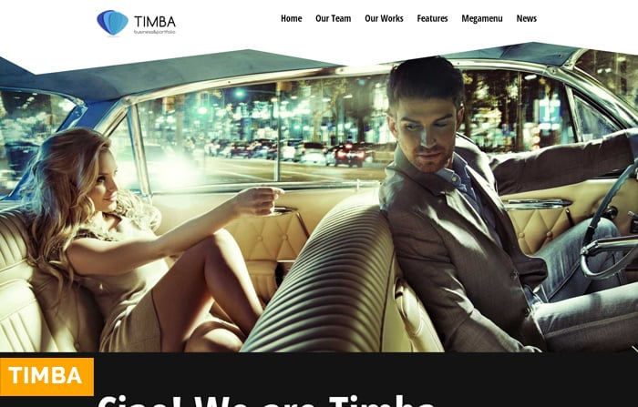 Timba – Unique Creative WordPress Theme