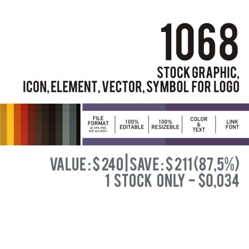 Mega Logo Bundle: 1068 Stock Graphics - Only $29 - Master