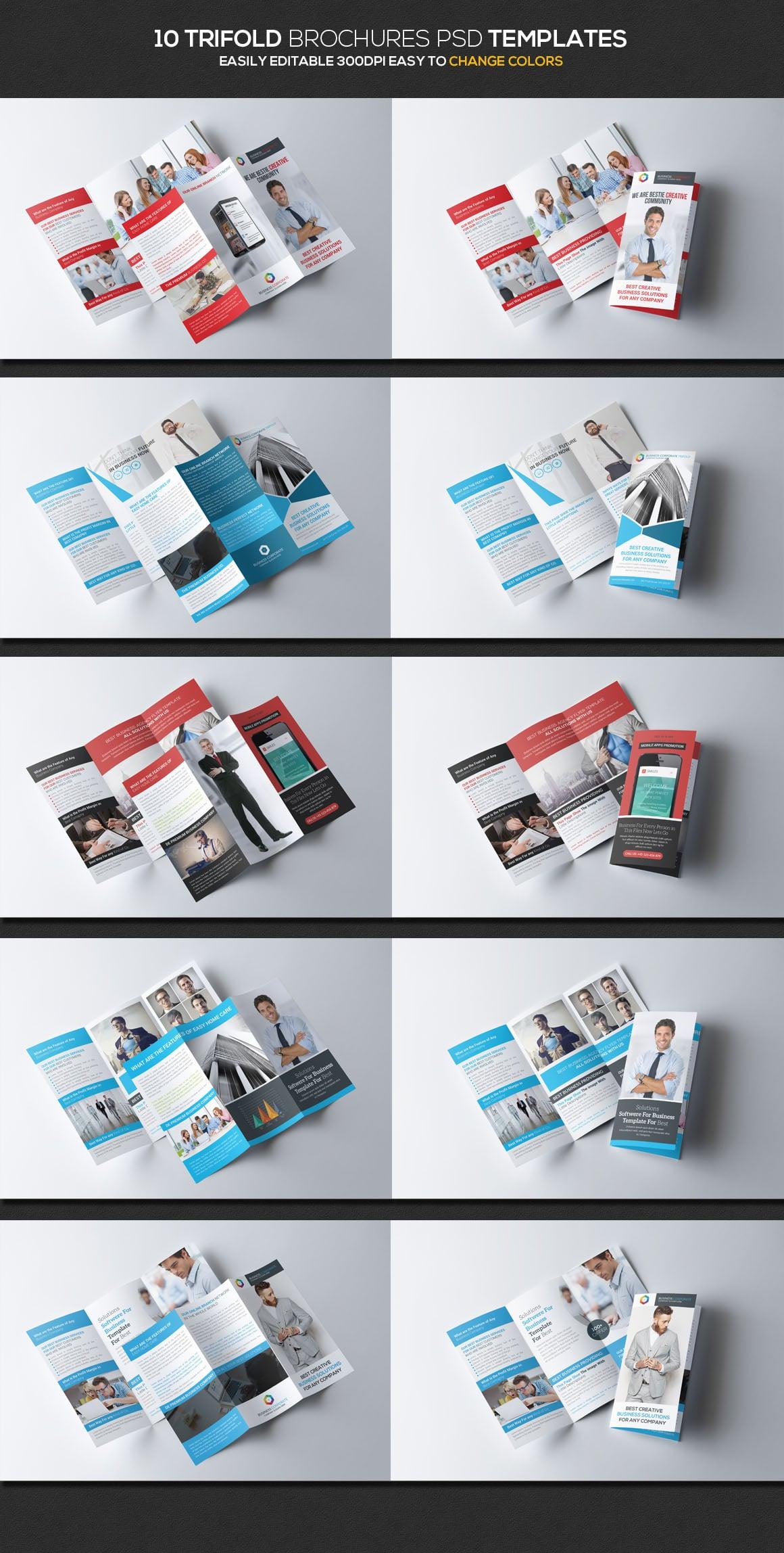 Huge Print Bundle: 130 Print Templates – $23 | Master Bundles
