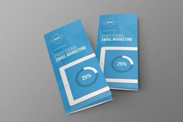 Email Marketing Brochure PSD Template