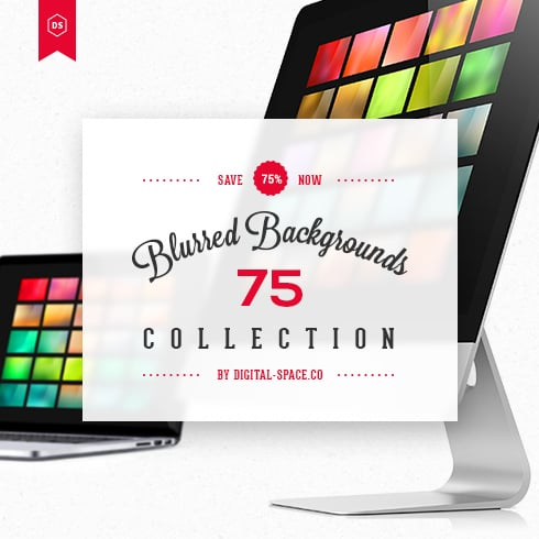 75 Blurred Backgrounds Collection for just $12