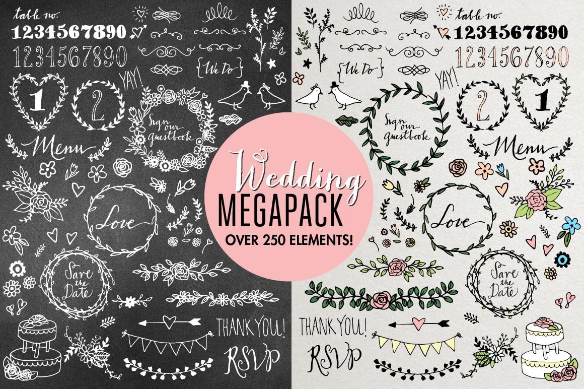 WeddingMegapack preview