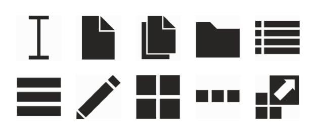 black-counture-metro-design-ui-elements