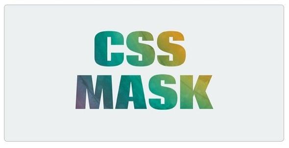 CSS3 Text Masks