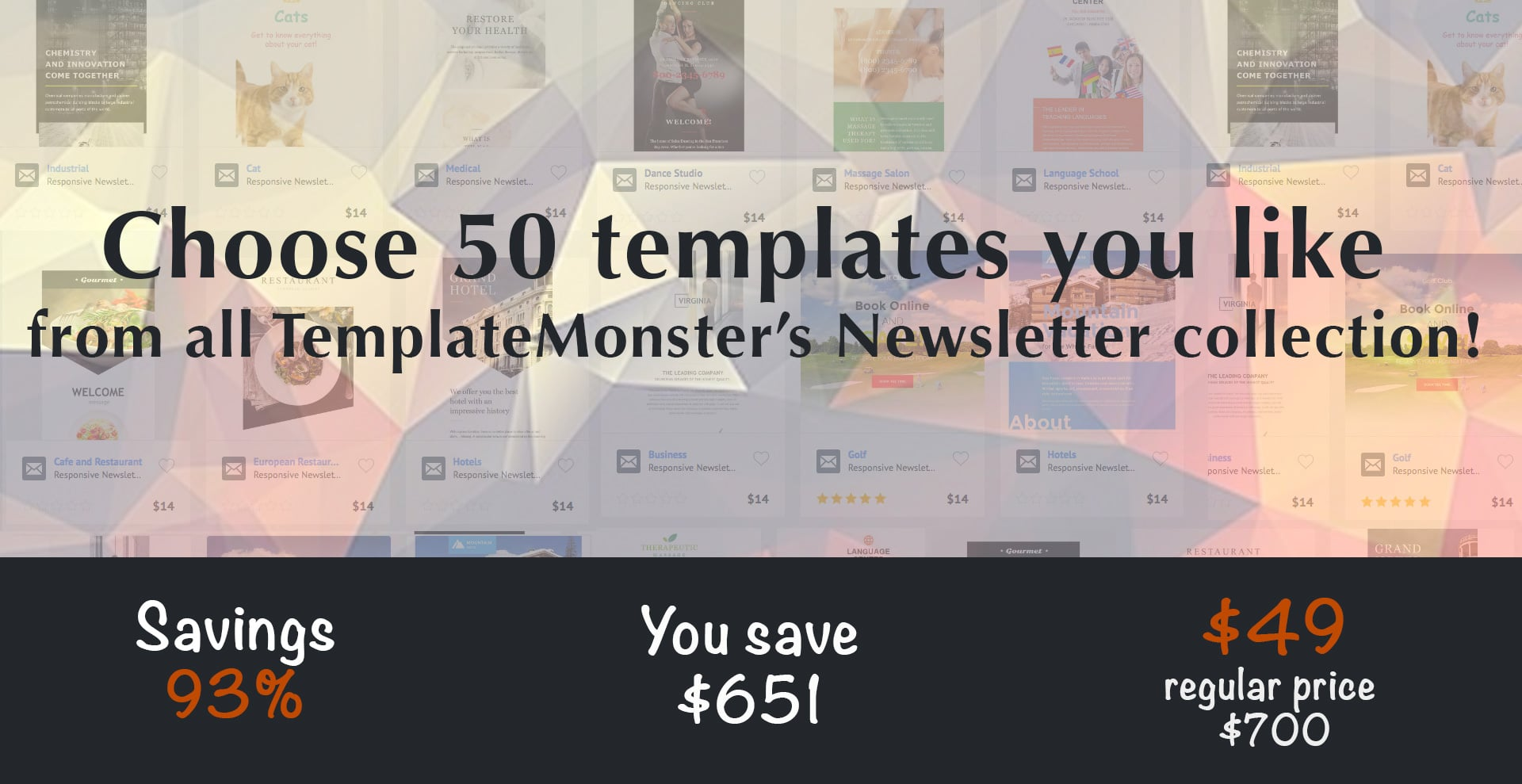 50 Newsletter & Email TemplatesMaster Bundles | Master Bundles