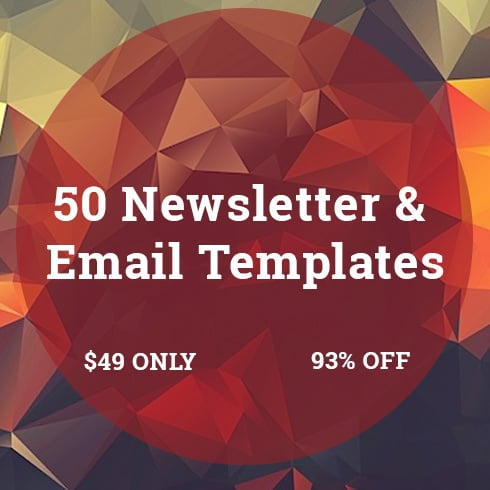 50 Newsletter & Email Templates